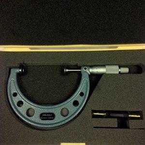 Mitutoyo 75-100mm External Disc Micrometer 123-104