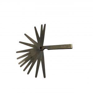 Feeler Gauge Set – 13 Blades 0.05mm to 1.00mm x 100mm long
