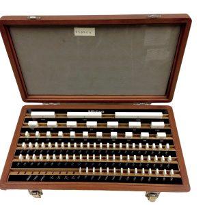E81 Mitutoyo 516-302 Ceramic Gauge Block Set Grade 0