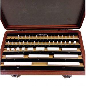 M47 Mitutoyo 516-362 Ceramic Gauge Block Set Grade 0