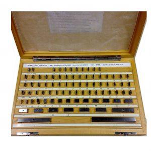 E81 Alan Browne Steel Gauge Block Set Grade 2