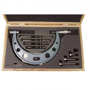 Mitutoyo 100-200mm External Adjustable Micrometer 104 series