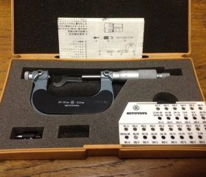 Mitutoyo Thread Micrometer – 25 – 50 mm dia 126-126