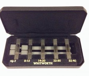 Marlco Thread Measuring Parallels Set – 4.1/2 to 40 Whitworth