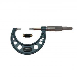 Mitutoyo 25-50mm Blade Micrometer 122-102